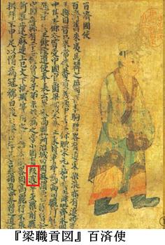 『梁職貢図』百済使.png